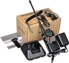 BAOFENG UV-5RA+Plus - Radio Walkie Talkie, Color Negro