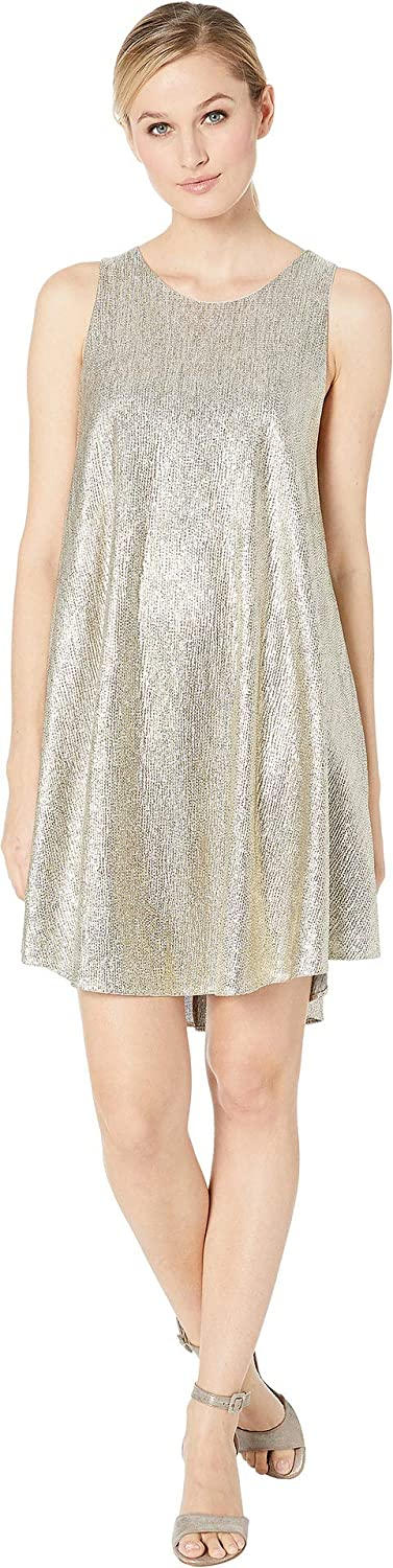 American pink Womens Jewel Sleeveless Sparkle Dress