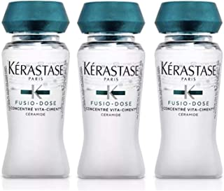 Kerastase Resistance Fusio-Dose Concentre Vita-Ciment Reconstructive Treatment 3 Vials