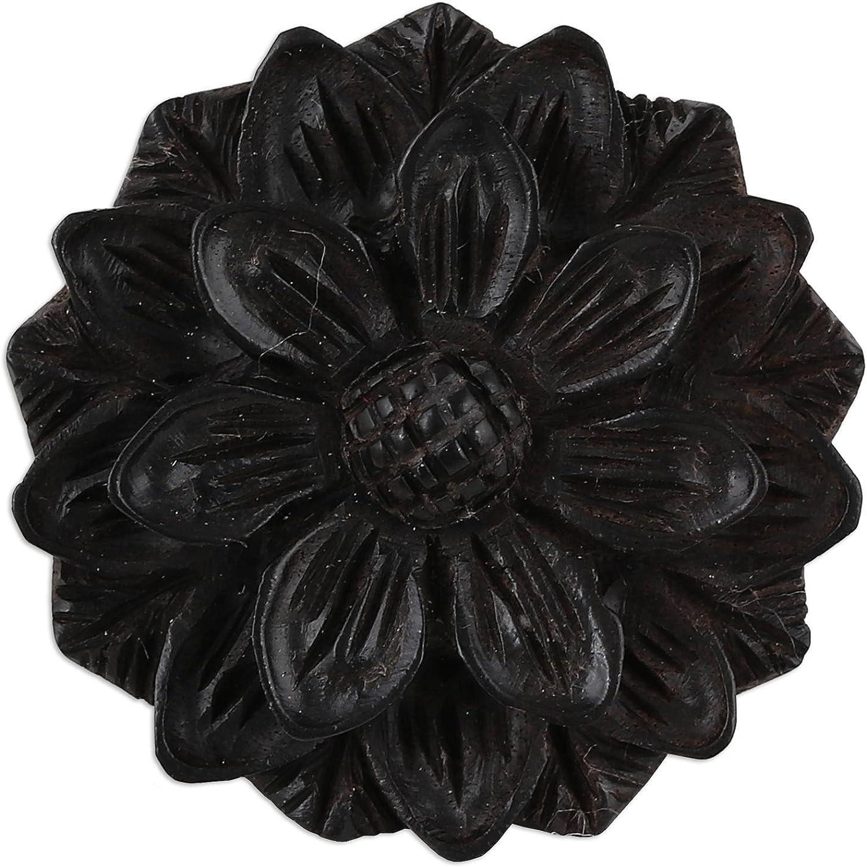 NOVICA Wood Ring, Exotic Sunflower'