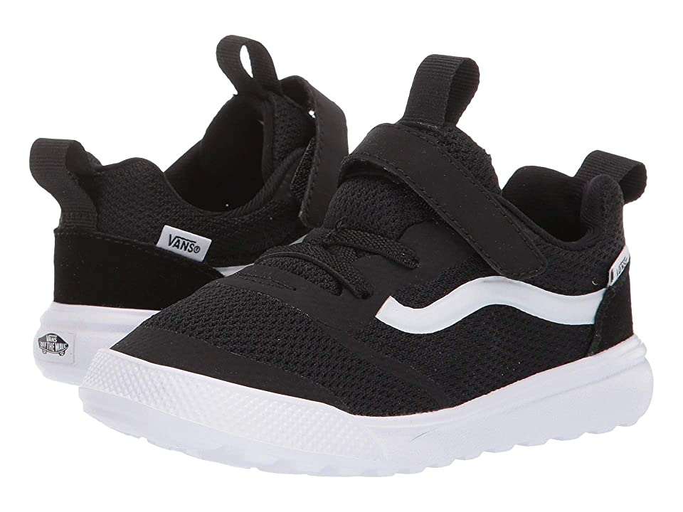 Image of Vans Kids UltraRange Rapidweld (Toddler) (Black/True White) Kid's Shoes