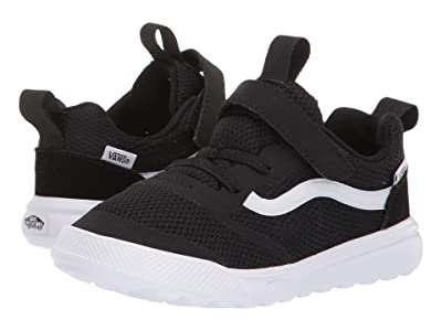 Vans Kids UltraRange Rapidweld (Toddler) (Black/True White) Kid