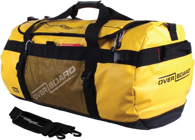 Ranking TOP19 OverBoard Adventure Duffel Yellow Bag Popular brand 90-Liter