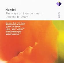 Handel, Ways Of Zion Do Mourn