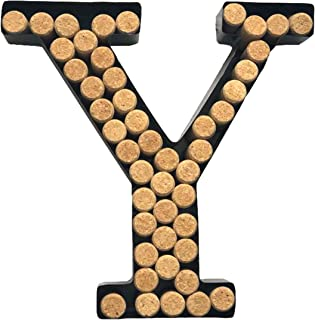 Sponsored Ad - Decomil Wine Cork Holder (A-Z) (Letter Y) | Decorative Wine Letters Cork Holder (Y) | Wall Art Cork Holder ...