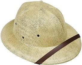Adult's Beige Safari Pith Helmet Costume Hat