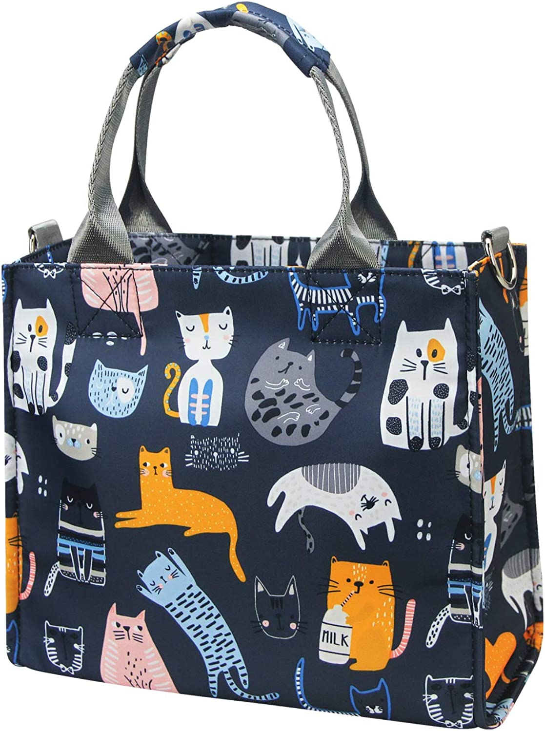 Diaper Bag for Baby Care Waterproof Multi-Function Diaper Tote Bag with Insulated Pocket Lightweight Fashion Baby Nursing Bag