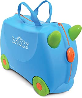 (Blue) - Trunki Ride-on Suitcase - Terrance (Blue)