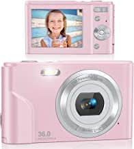 Digital Camera, Lecran FHD 1080P 36.0 Mega Pixels...