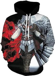 Harajuku Assassins Creed Game Pullover Hoodies Unisex 3D Print Sweatshirt