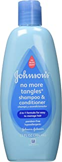 Johnson's No More Tangles Extra Conditioning Shampoo, 13 Fl. Oz (Pack of 2)