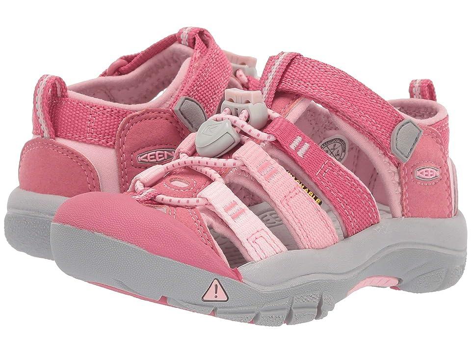 Keen Kids Newport H2 (Toddler/Little Kid) (Rapture Rose/Powder Pink) Girls Shoes