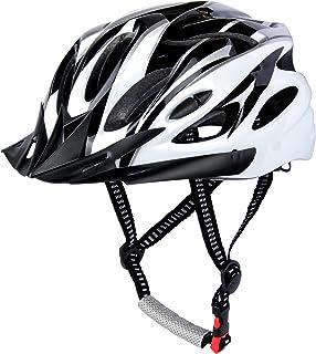 Casco de Bicicleta, Casco de Ciclismo, Casco Bicicleta Adulto Montaña, Visera y Forro Desmontable, Cascos Bicicleta Carret...