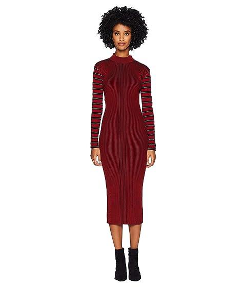 McQ Rib Striped Dress