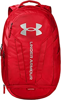 Sponsored Ad - Under Armour Hustle Backpack, Red (600)/Silver, One Size Fits All
