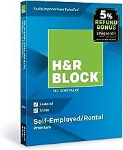 [OLD VERSION] H&R Block Tax Software Premium 2018 with 5% Refund Bonus Offer [Amazon Exclusive] [PC/Mac Disc]