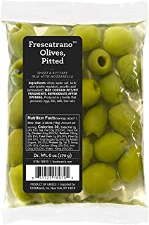 Divina, Pitted Frescatrano Olives, 6 Ounce