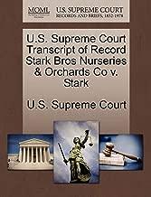 U.S. Supreme Court Transcript of Record Stark Bros Nurseries & Orchards Co v. Stark