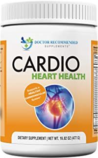 Cardio Heart Health Powder – L-Arginine Supplement 5000mg & L-Citrulline 1000mg,16.82 oz