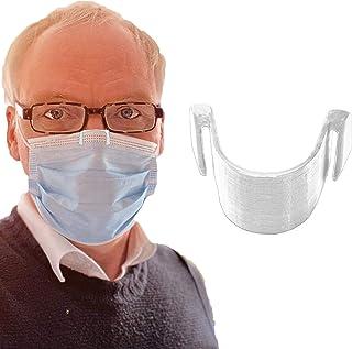 1 pince de nez anti-buée pour masque transparente - Empêche la buée et la vapeur - Respiration plus lisse - Recyclable - E...