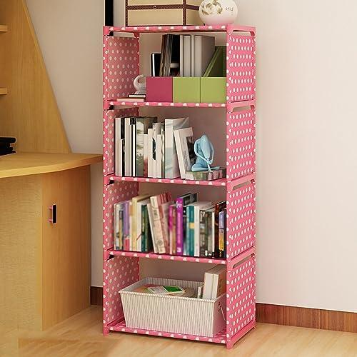 Bücherregal CHUANLAN Einfache Wohnzimmer Schlafzimmer Regale Student Dormitory Schlafzimmer Lagerung Artefakt (Farbe   B 41  31  125cm)