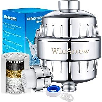 AquaHomeGroup Filtro de Agua para la Ducha de 15 Etapas con ...