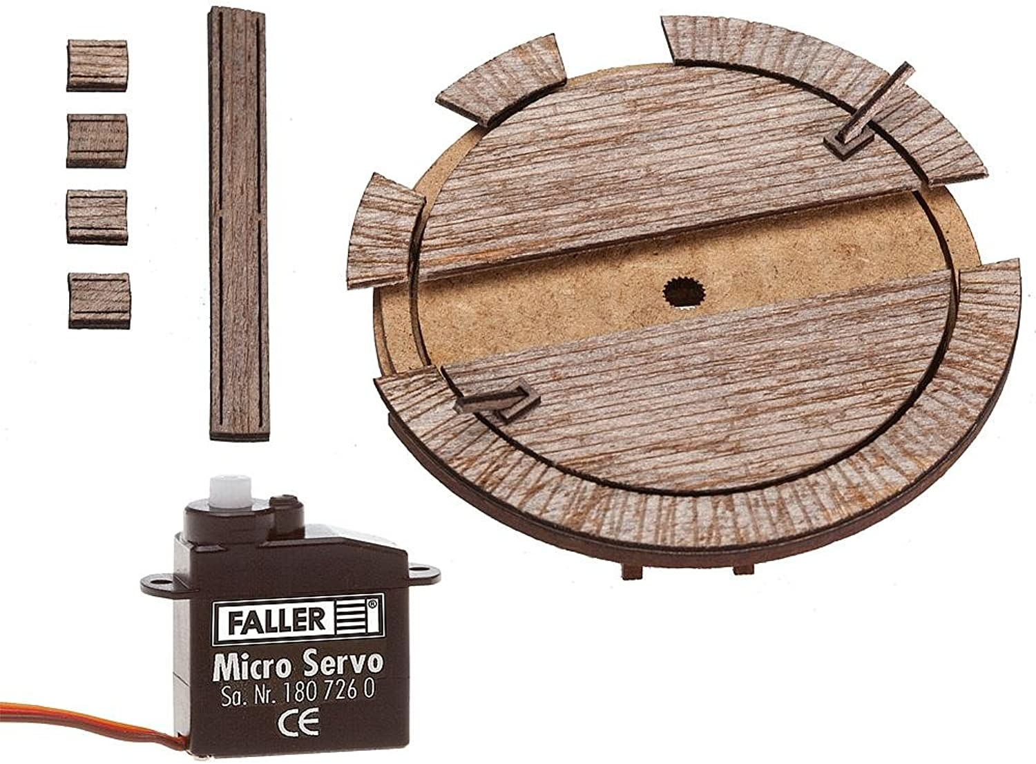 Faller 222114 Wagon Turntable with Drive N Scale Building Kit