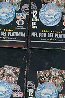 1991 pro set platinum football cards