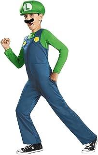 Super Mario Bros. - Luigi Child Costume size Small 4-6