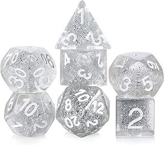 Best silver glitter dice Reviews
