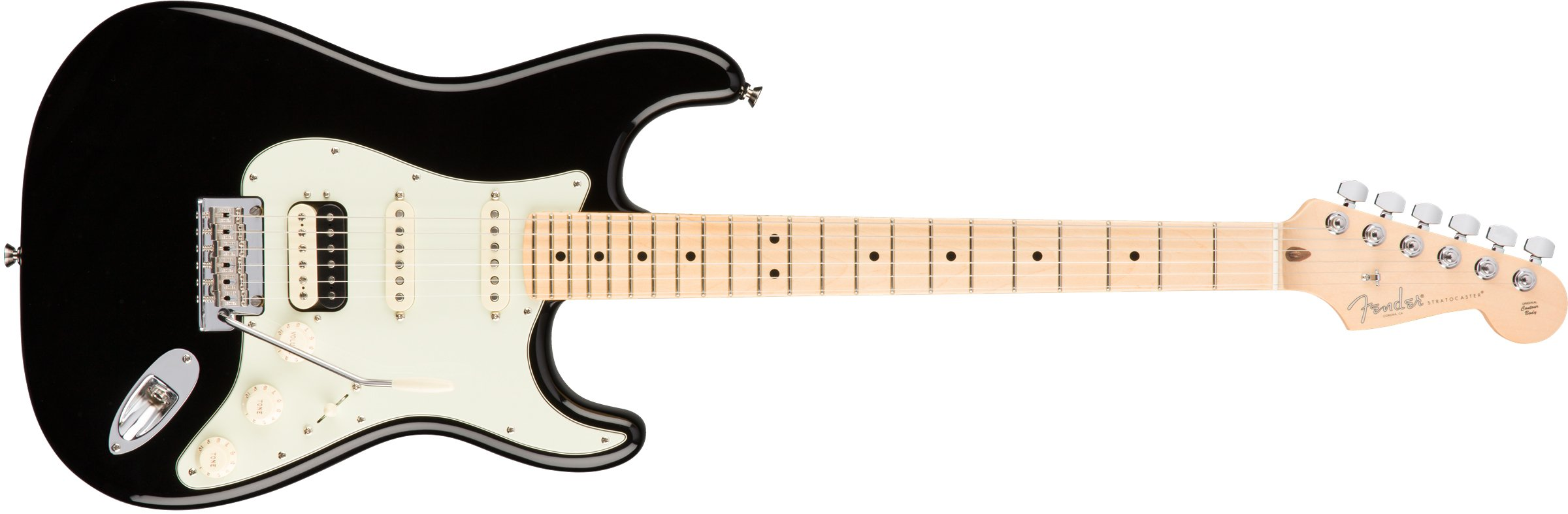 Cheap Fender American Professional HSS Shawbucker Stratocaster - Black with Maple Fingerboard Black Friday & Cyber Monday 2019