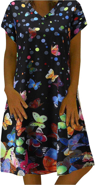 Smooto Women Summer Dresses Sexy Sleeveless Lace Hem Loose Beach Mini Dress