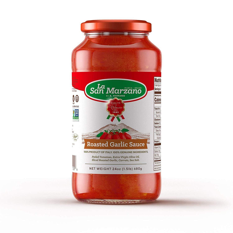 Cheap trust SALE Start Roasted Garlic Tomato Sauce by La 24 Marzano - oz San