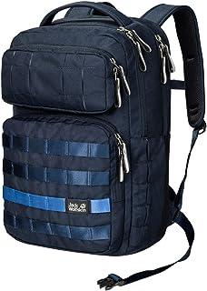 "Jack Wolfskin TRT 20L school backpack, 360° reflective, 14"" laptop pouch, 100% PFC free"