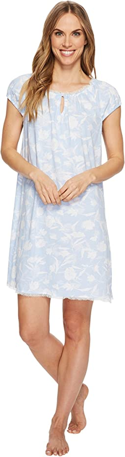 LAUREN Ralph Lauren - Knit Short Sleeve Gown