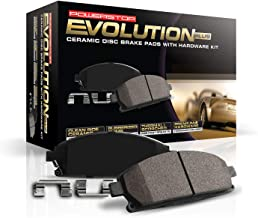 Power Stop 17-1539, Z17 Front Ceramic Brake Pads with Hardware