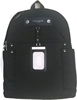 Nylon Backpack - Black, large
