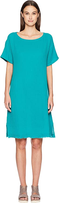 Bateau Neck K/L Dress