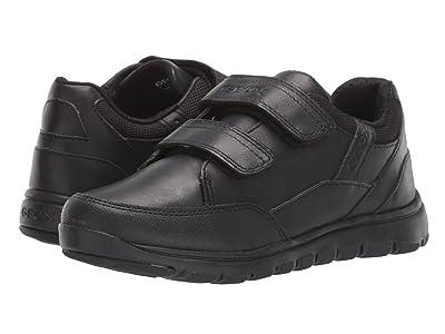 Geox Kids Jr Xunday 3 (Big Kid) (Black Oxford) Boys Shoes