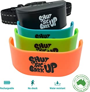 Bark Collar for Small to Medium Dogs - Non Shock Rechargeable Collar for Dogs, Waterproof Bark Control Device, Pain-Free, Safe, Ultrasonic Vibration - Training Collar for Dog Barking Control and Behaviour