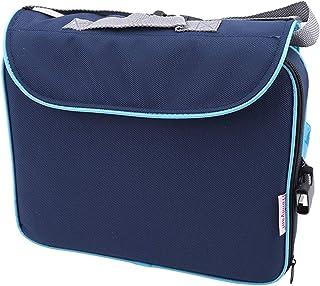 Aiasiry Asiento De Seguridad para Bebés Ajustable Portátil Que Se Puede Poner En Su Bolsa De Transporte para Que El Bebé Coma En El Campamento, Azul