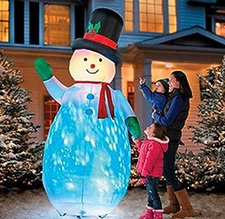 Improvements Kaleidoscope Giant Inflatable 8' Snowman