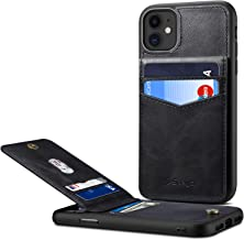 iPhone 11 Card Holder Case iPhone 11 Wallet Case Spaysi Slim iPhone 11 Folio Leather Case Flip Cover for iPhone 11 Case with Vertical Stand (Black)