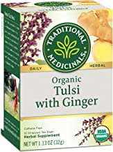 traditional medicinals tulsi with ginger