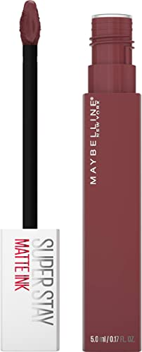 Batom Líquido Maybelline NY-Matte Ink Pink Edition Mover, Maybelline, Rosa