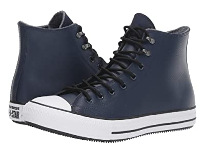 Converse Chuck Taylor All Star Winter First Steps Hi (Obsidian/Black/White) Shoes