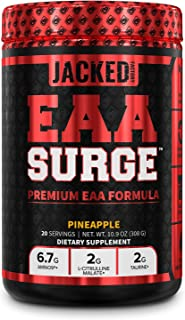Sponsored Ad - EAA Surge Premium EAA Supplement - 9 Essential Amino Acids Intra Workout Powder Supplement w/L-Citrulline, ...