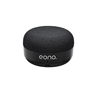 Eono by Amazon - Super Portable Bluetooth Compact Speaker with HARMAN Sound Technology, 5 Hours of Playtime, Built-In Micr...