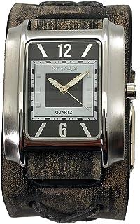 VXB013K ネメシス 腕時計 レトロレザー ビンテージ風 カフ vwatch