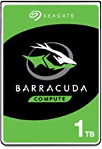 Seagate BarraCuda 1TB Internal Hard Drive HDD – 2.5 Inch SATA 6 Gb/s 5400 RPM 128MB Cache for PC Laptop – Frustration Free...